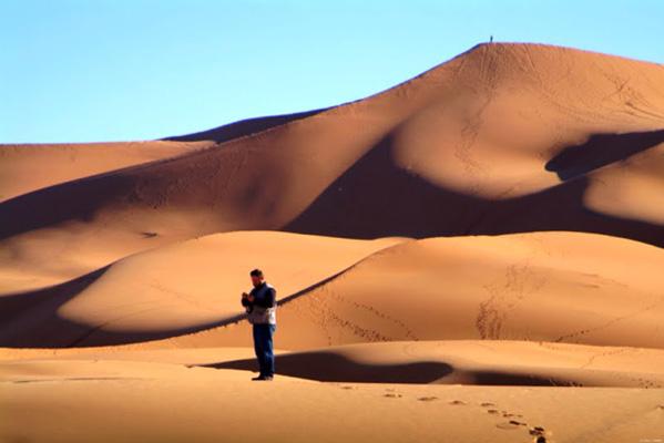 Encontrar en el desierto