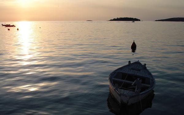 Quietud del mar