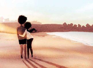 pareja-rio-atardecer-amor