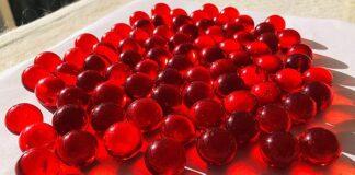 reflexion canicas rojas