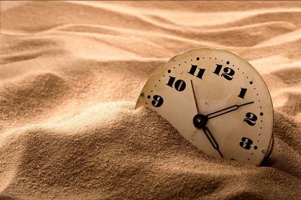 el tiempo es limitado